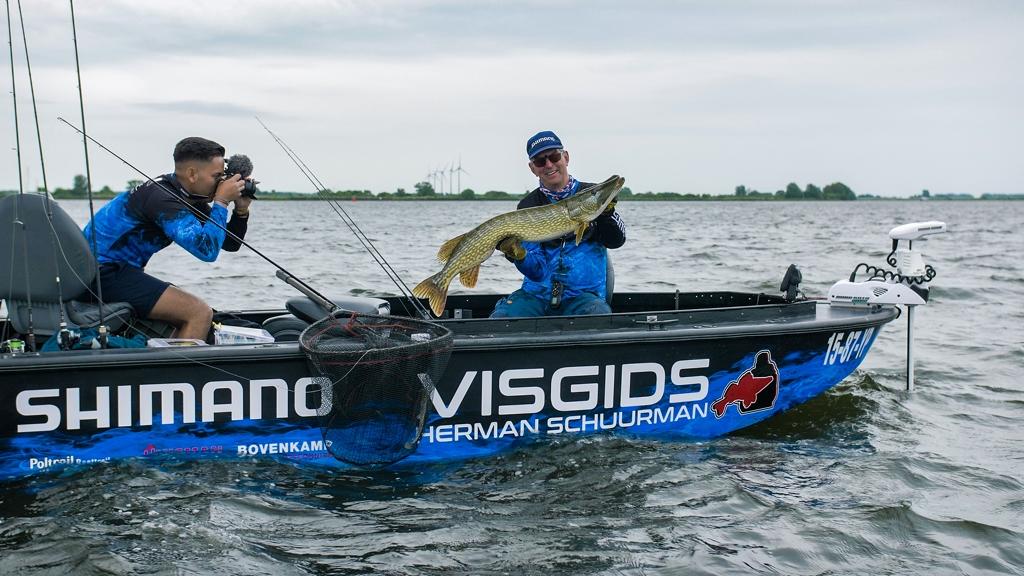 Over gidsen, grote wedstrijden en roofvis in Friesland – Herman Schuurman