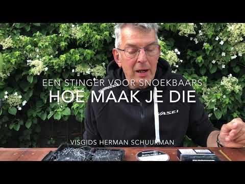 Zo maak je stingers voor snoekbaars – Herman Schuurman
