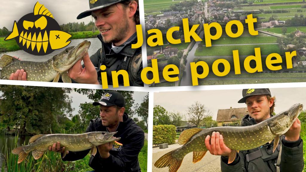 ***Roofmeister VIDEO*** Jackpot in de polder – Snoek op de vierkante meter