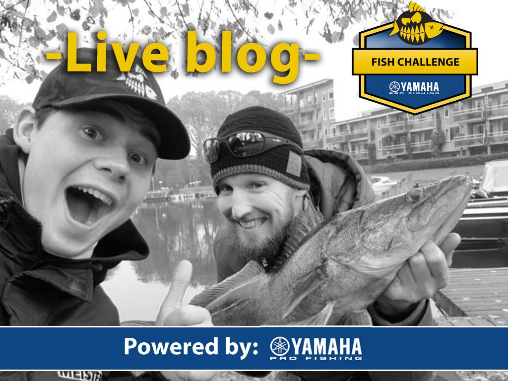 FISH CHALLENGE powered by Yamaha Pro Fishing – Live blog dag 1
