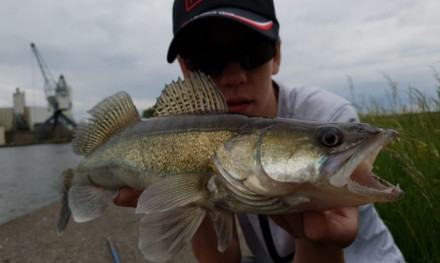 Werpen met een shad – Streetfishing met Rick Simmerman