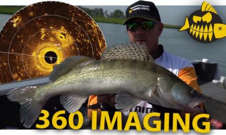 Het bootje rond met 360 Imaging van Humminbird