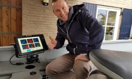 Plug & play met de Element van Raymarine – Thijs van der Sanden