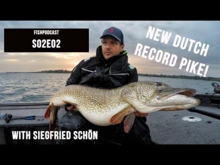 Sean Wit interviewt vanger van Nederlands record snoek van 138 cm! – Podcast
