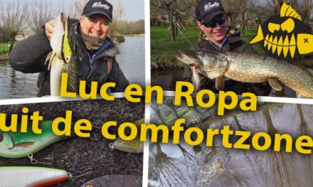 ***Roofmeister VIDEO*** Luc Coppens en Robert-Paul Wolters uit hun comfortzone – Snoeken vanaf de kant