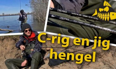 ***VIDEO*** Hengels voor C riggen & jiggen op grote baars – Thijs Acker