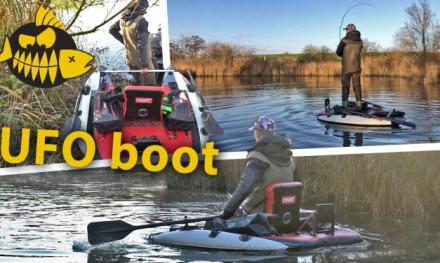 Staan op de HART Slider bellyboat