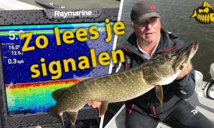 Zo lees je een fishfinder – Jouke Jansma met de basis